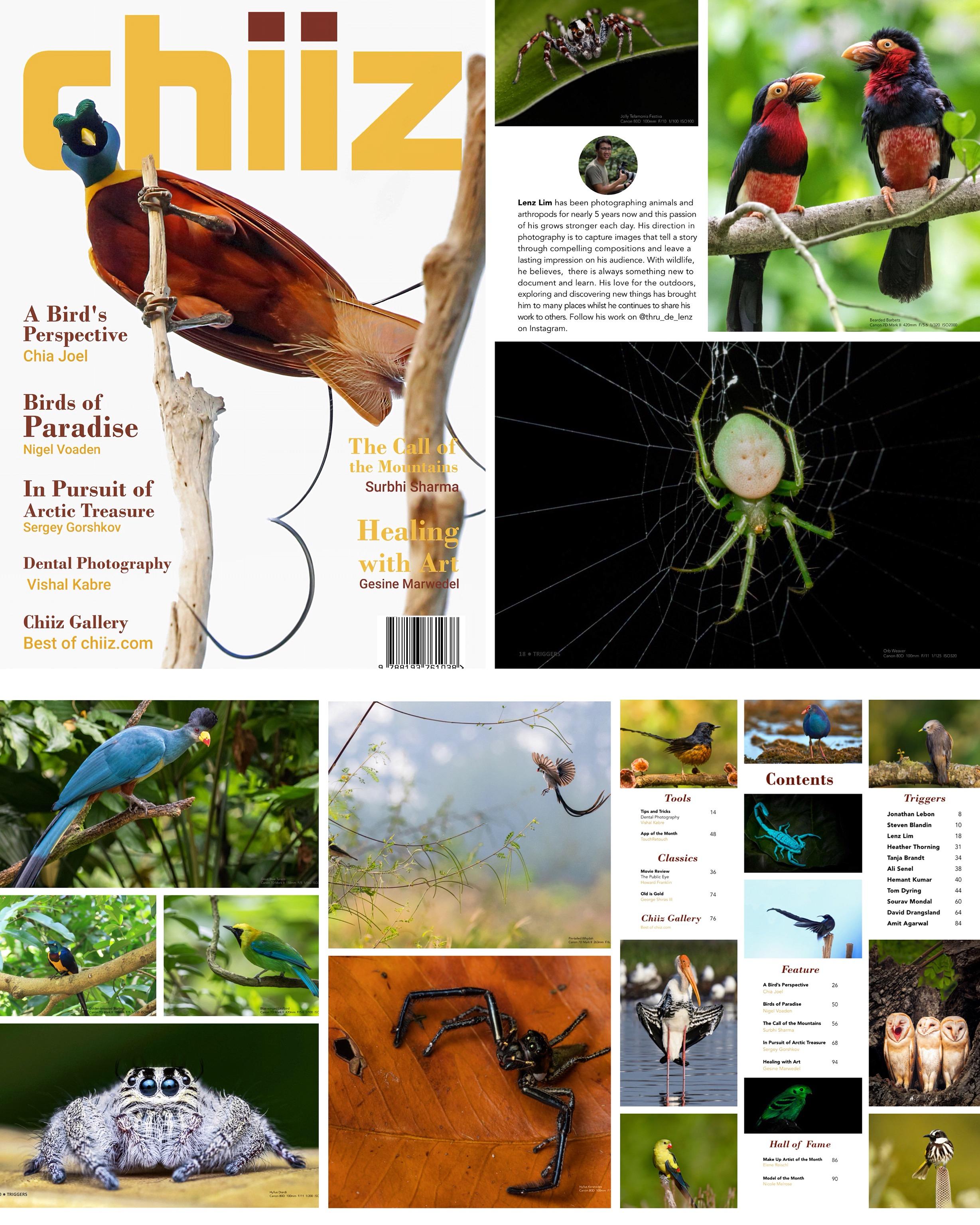 Chiiz Magazine Lenz Lim